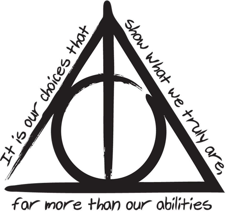 Deathly Hallows Symbol Vector
