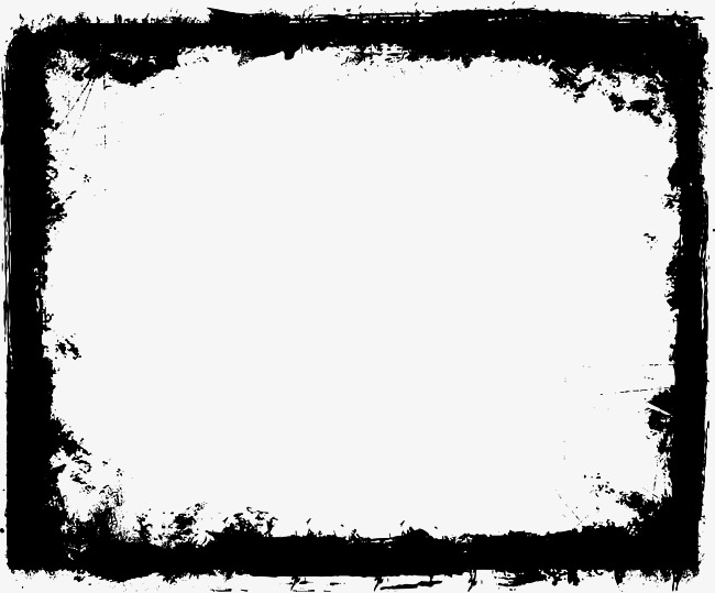 650x539 Ink Decorative Border, Vector Png, Ink, Ink Style Png And Vector