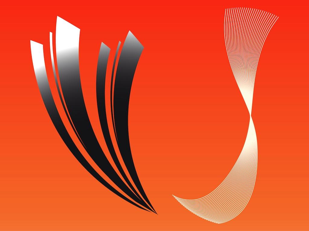 1024x765 Decorative Vector Lines Vector Art Amp Graphics