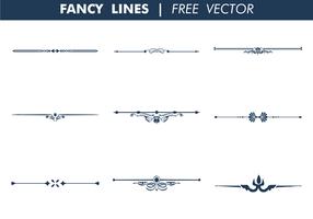 286x200 Fancy Line Free Vector Art