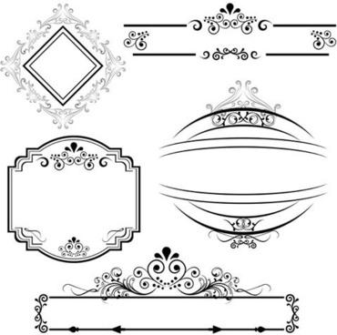 370x368 Wedding Decorative Line Borders Free Vector Download (35,021 Free