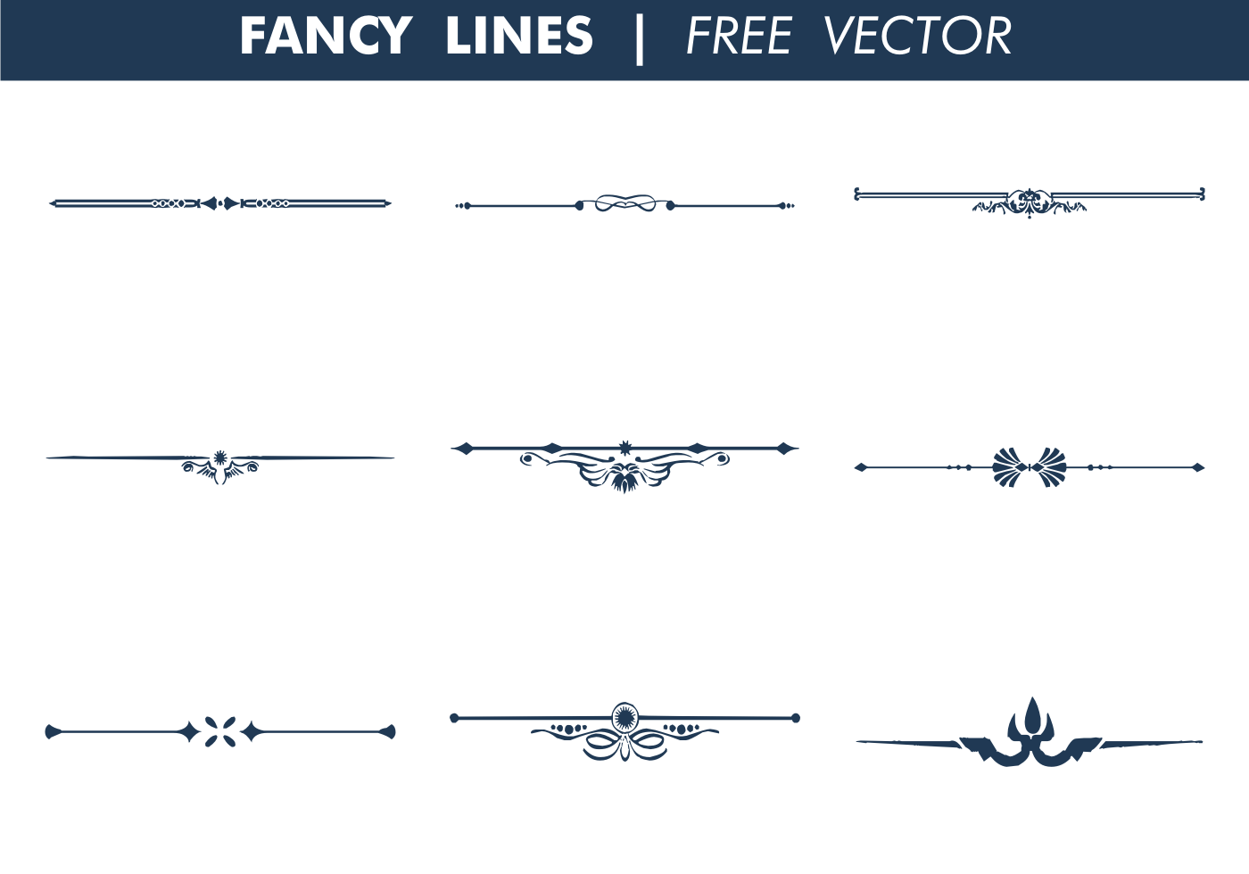1400x980 Collection Of Free Fancied Clipart Decorative Line. Download On