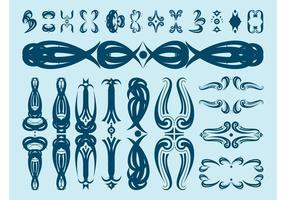 286x200 Decorative Scroll Free Vector Art