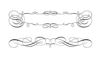 352x200 Scroll Free Vector Art