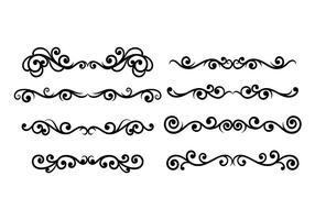 286x200 Scrollwork Free Vector Art