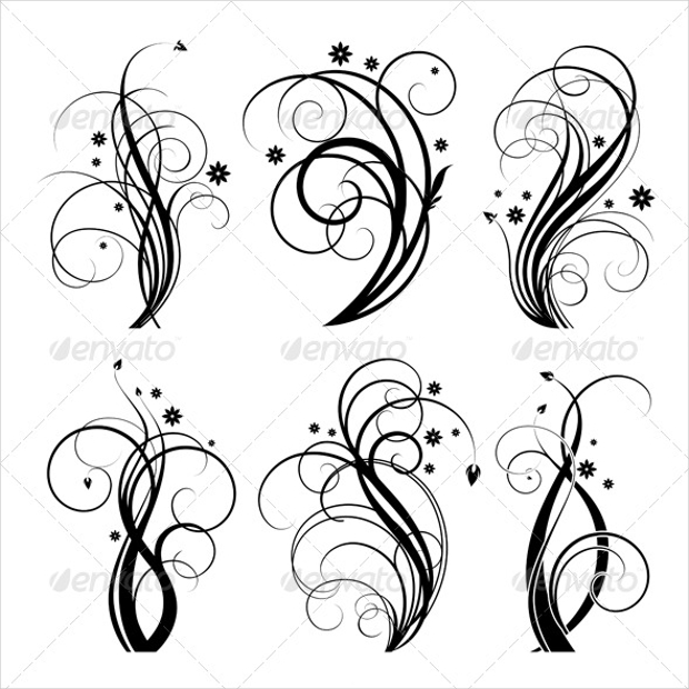 Decorative Swirls Vector