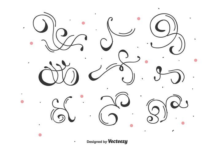 700x490 Decorative Vector Swirls