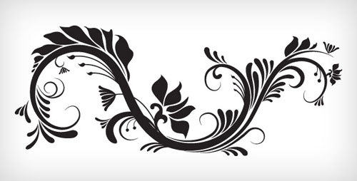 500x254 30 Free Swirl,curly And Floral Vectors For Designers Designbeep