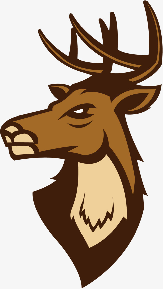 650x1151 The Proud Deer Head, Deer Vector, Head Vector, Nordic Deer Head