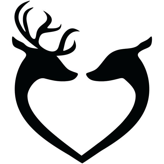 570x570 Deer Head Silhouette Vector Free Images Of At For Autodealerservice