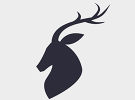 270x200 Free Deer Vector Graphics