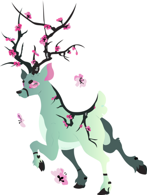 500x663 Collection Of Free Deer Vector. Download On Ubisafe