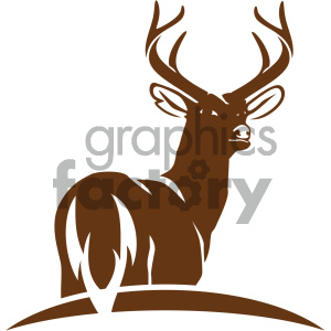 300x300 Royalty Free Deer Vector Icon 405546 Icon