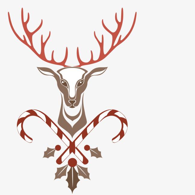 650x651 Deer Head, Deer Vector, Head Vector, Christmas Png And Vector For