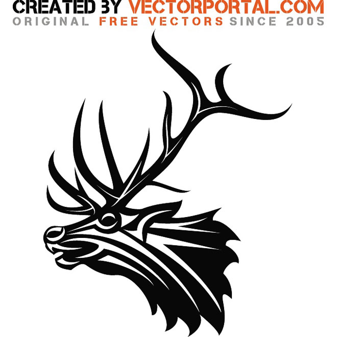 660x660 Deer Silhouette Vectors Download Free Vector Art Amp Graphics