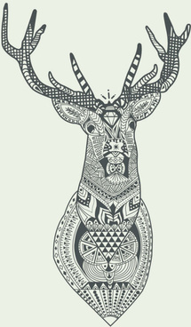 215x368 Deer Free Vector Download (295 Free Vector) For Commercial Use