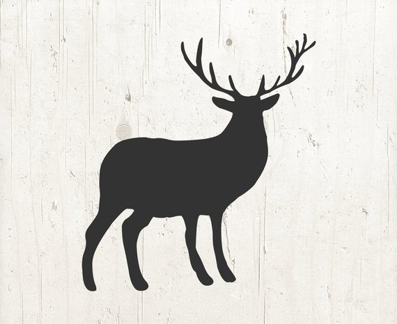570x466 Deer Svg Deer Svg Files Antlers Svg Deer Clip Art Deer Etsy