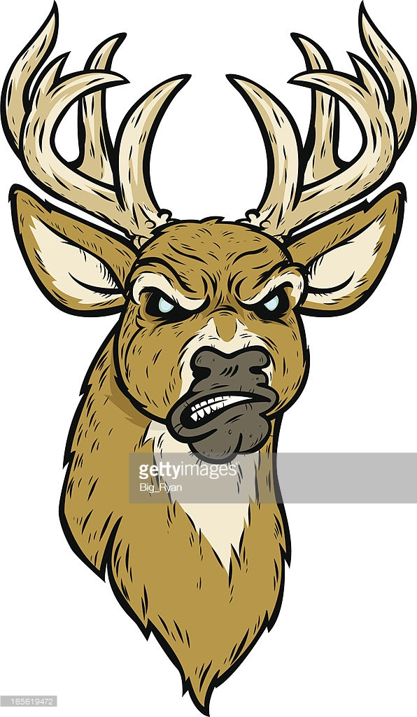 596x1024 Collection Of Angry Deer Drawing High Quality, Free Cliparts