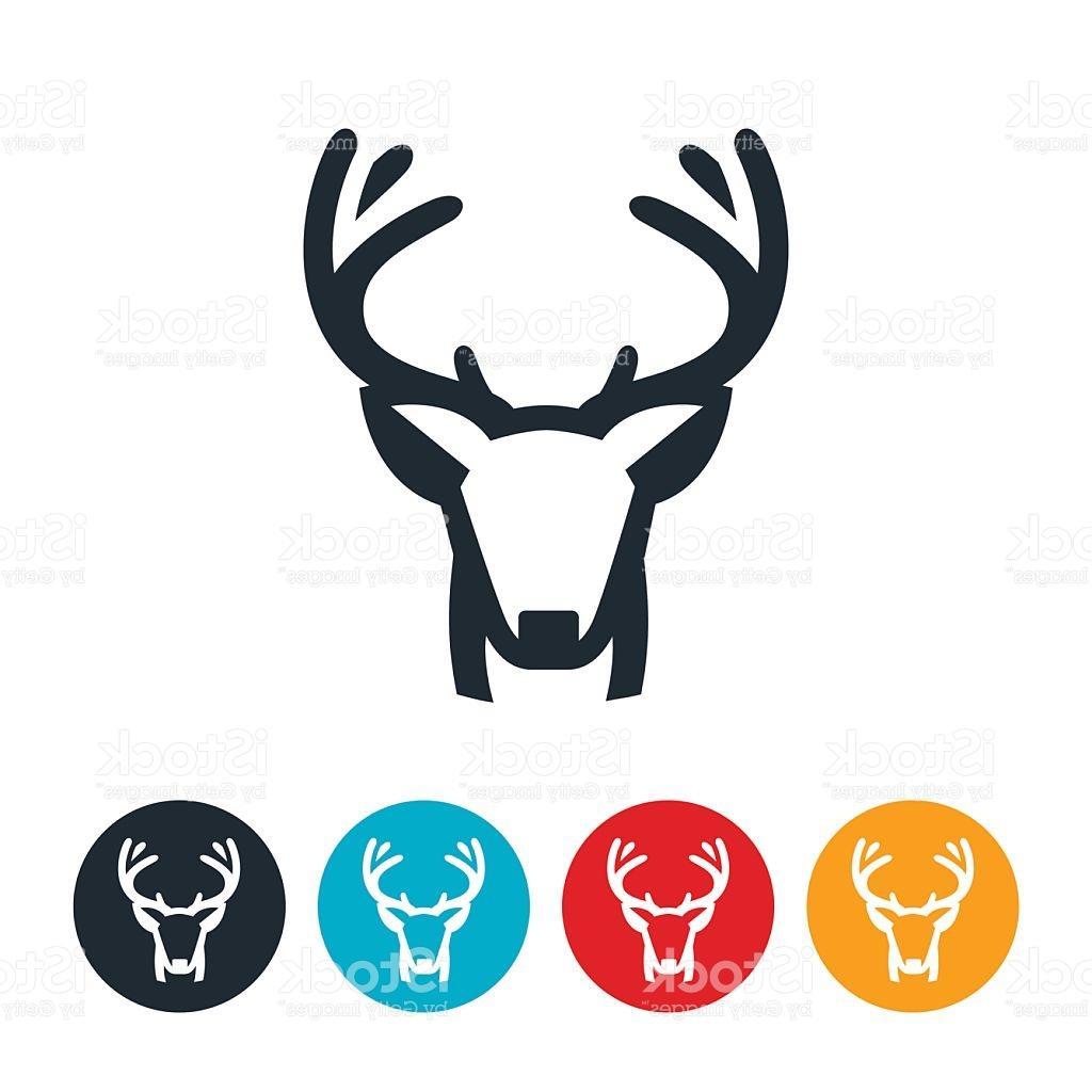 1024x1024 Best Free Buck Mule Deer Vector Image