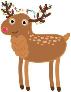 284x368 Deer Free Vector Download (297 Free Vector) For Commercial Use