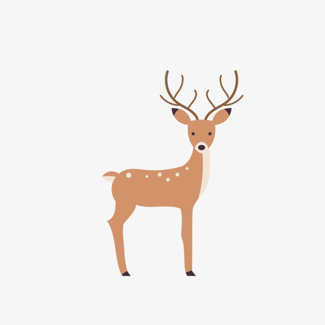 650x650 Deer, Deer Clipart, Vector Animals, Forest Animals Png And Vector