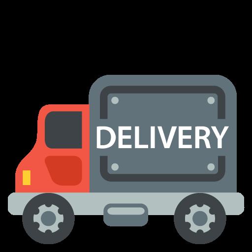 512x512 Delivery Truck Emoji Vector Icon Free Download Vector Logos Art