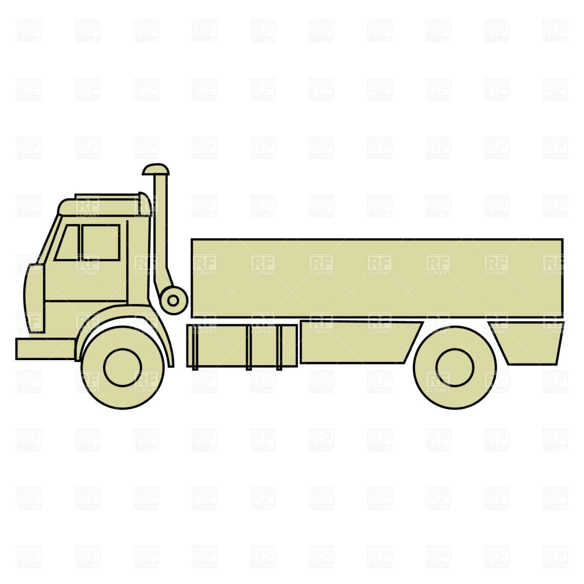 1200x1200 Truck Vector Image Vector Artwork Of Transportation Prague