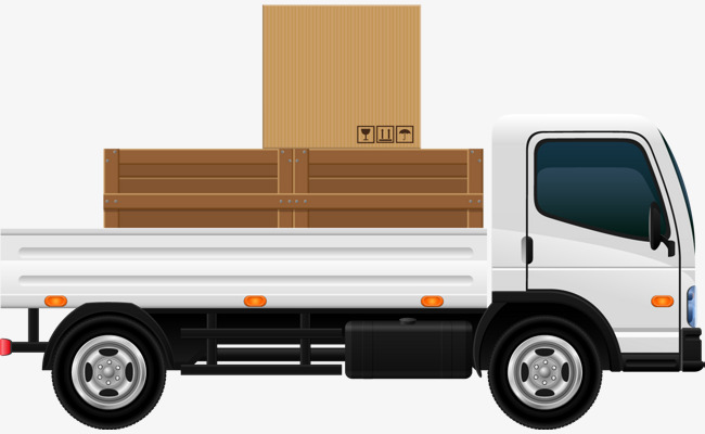 650x400 Vector Flowers Delivery Truck 2, Truck Vector, Truck Clipart