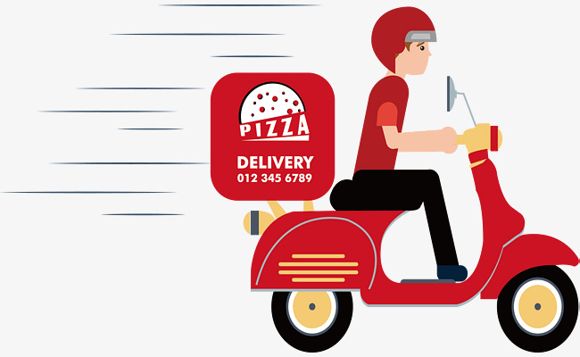 650x400 Pizza Shop Delivery, Shop Clipart, Vector Material, Takeaway Png