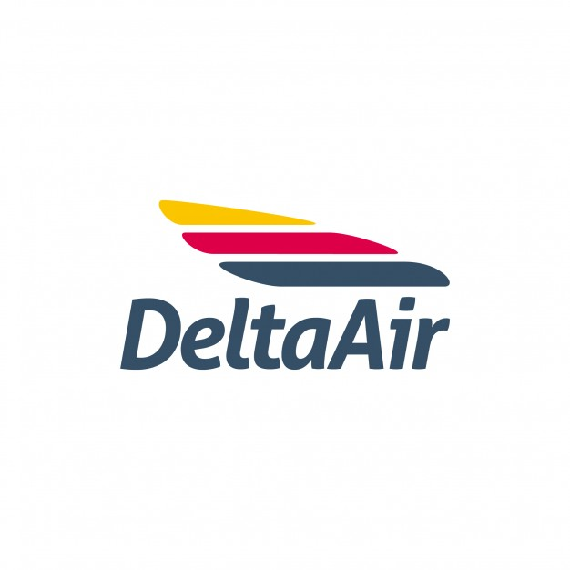 626x626 Delta Air Logo Vector Premium Download