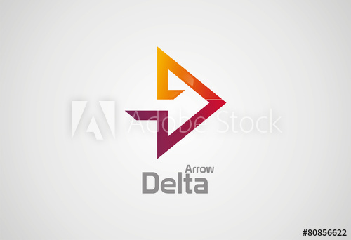 500x342 Delta Arrow Logo Vector