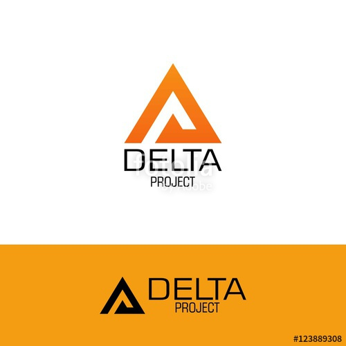 500x500 Delta Project Logo Stock Image And Royalty Free Vector Files On