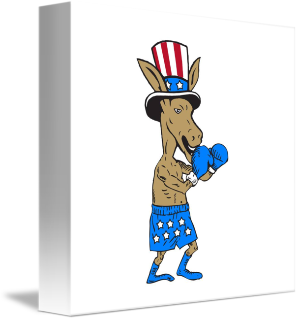 606x650 19 Democratic Donkey Graphic Library Library Huge Freebie