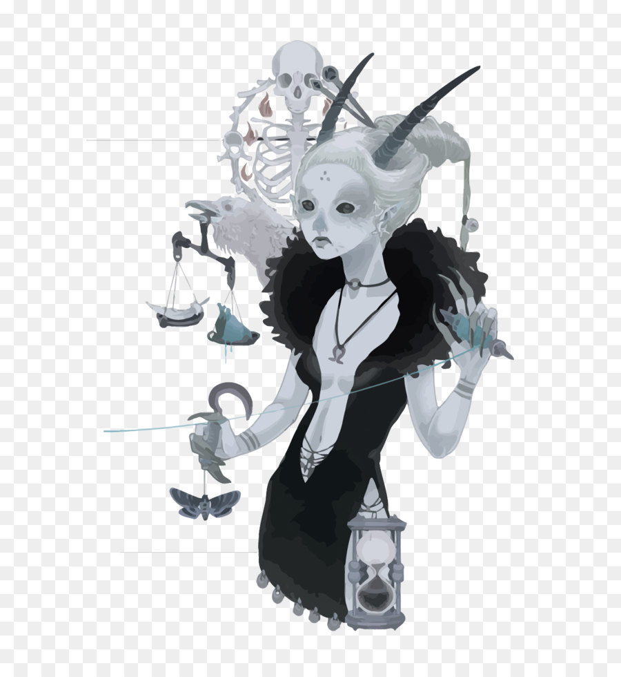 900x980 Devil Illustration