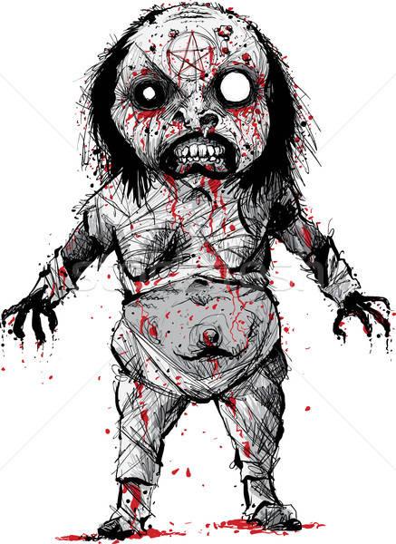 437x600 Undead Witch Demon Vector Illustration Brett Lamb (Blamb