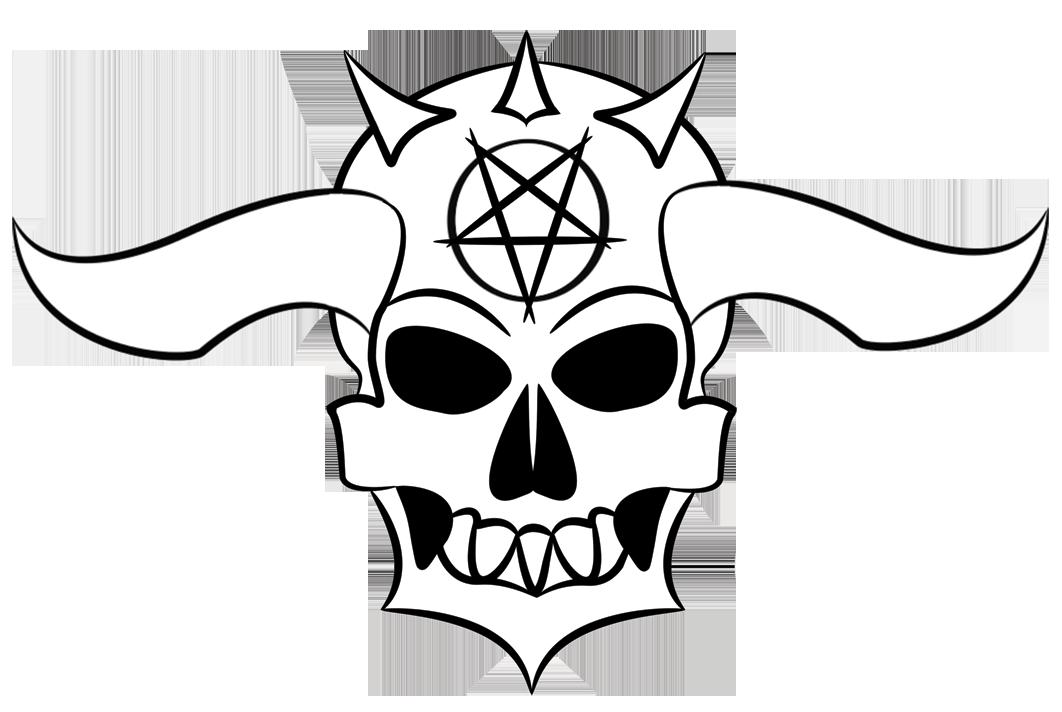 1062x712 Vector Skull