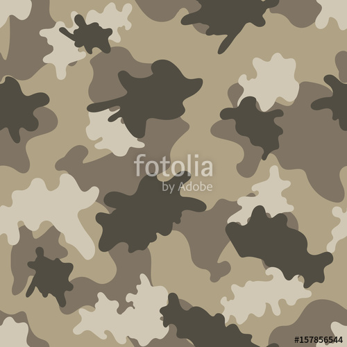 500x500 Desert Camouflage. Seamless. Vector. Stock Image And Royalty Free