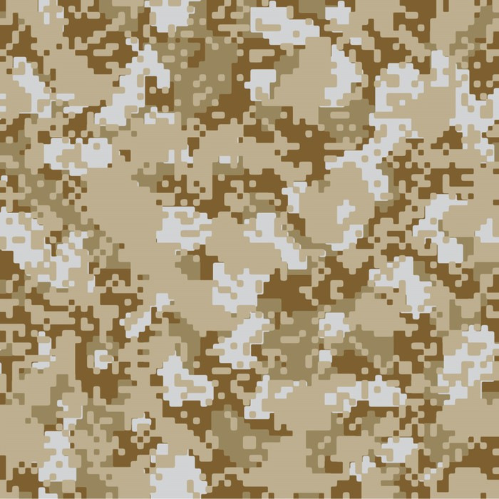 700x700 Desert Sand Vector Seamless Camo Sticker We Live To Change