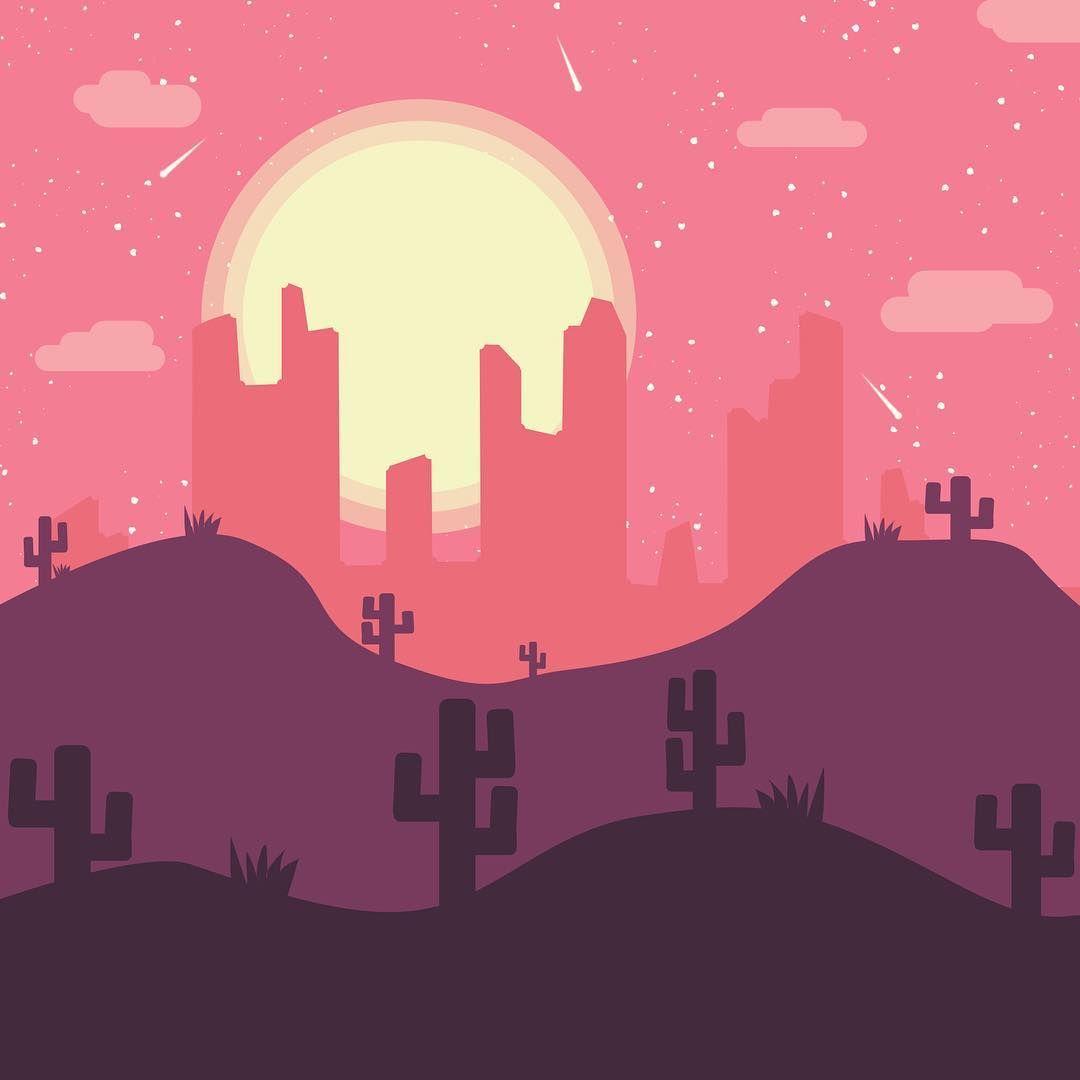 Desert Vector Art