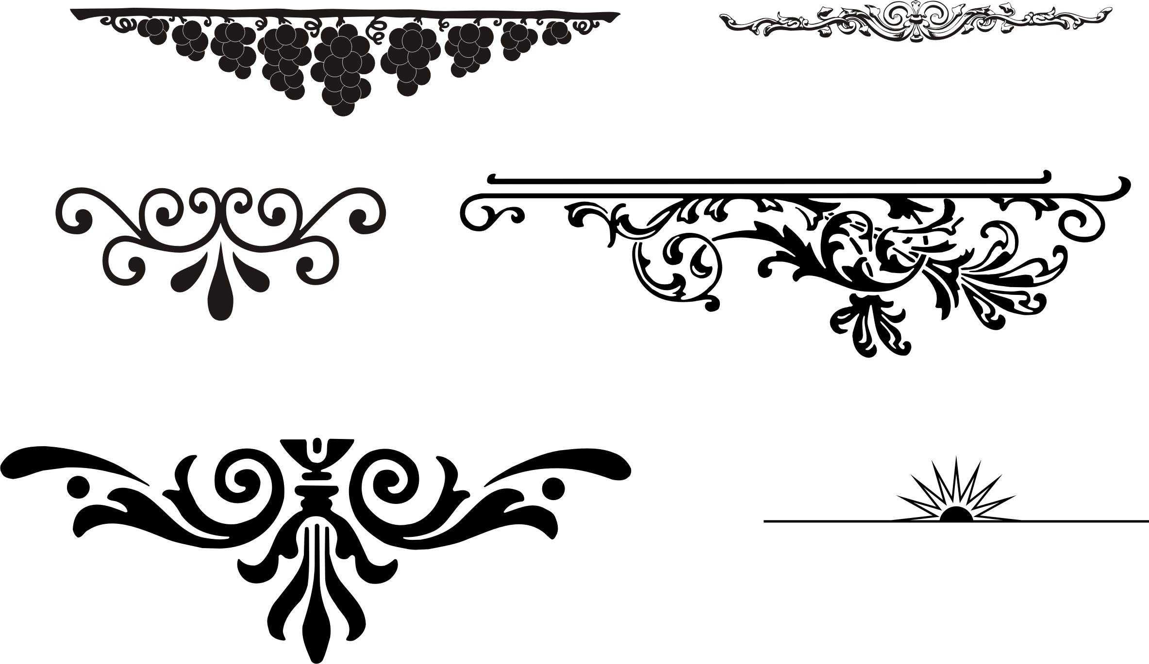 Design Elements Vector Free Download