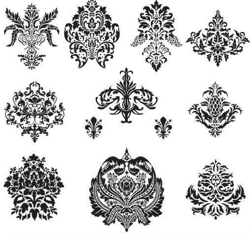 511x471 Design Floral Elements Vector Ai Format Free Vector Download