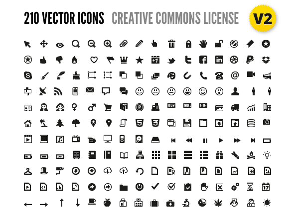 590x443 Free 210 Vector Icons For Wireframes + Web Design Psd Files