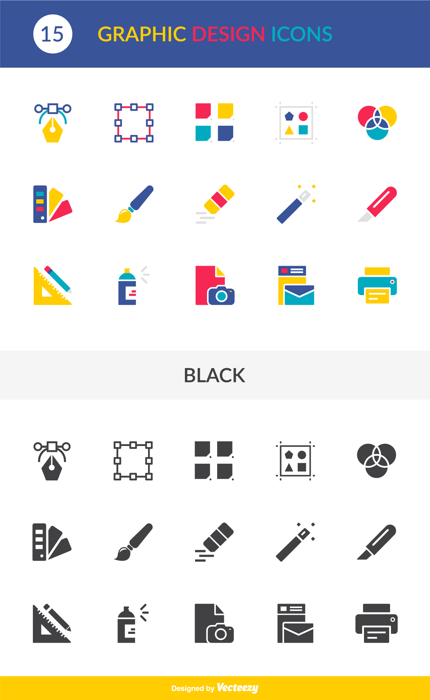 1400x2277 Free Vector Graphic Design Vector Icons Pack Download Creative