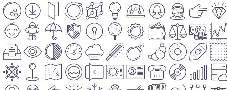 750x300 Top 50 Free Icon Sets From 2014