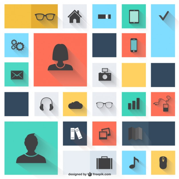 626x626 Web Elements Icons Vector Free Download