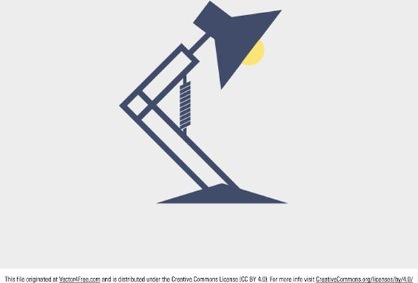 600x407 Desk Lamp Vector Free Vector In Adobe Illustrator Ai ( .ai