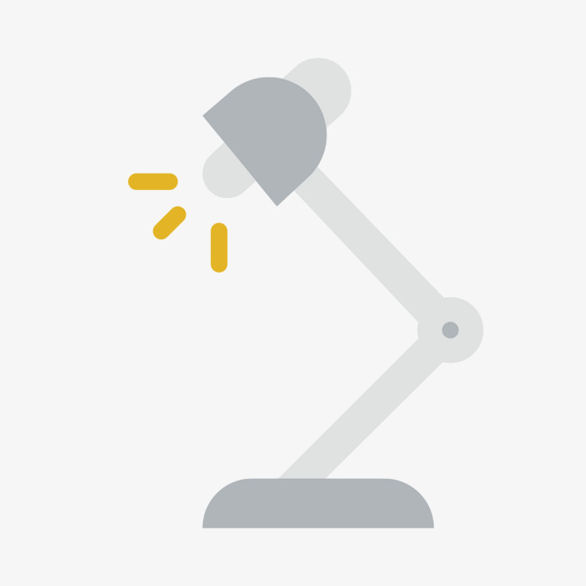 650x651 Grey Desk Lamp, Lamp Vector, Gray, Fold Png And Vector For Free