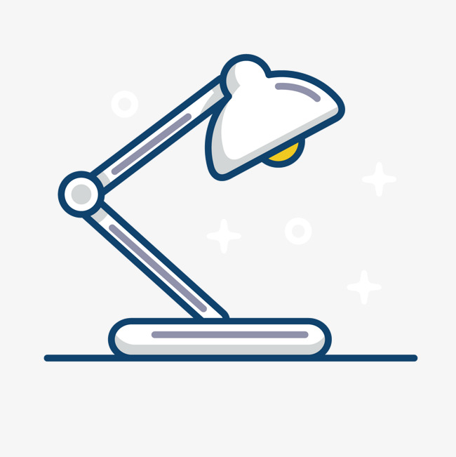 650x651 Grey Hand Painted Desk Lamp, Hand Vector, Lamp Vector, Gray Png