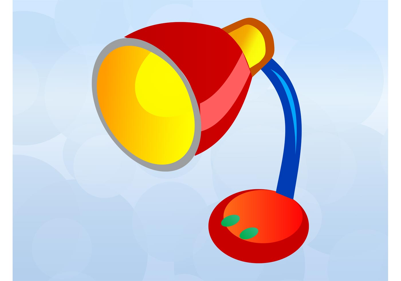 1400x980 Desk Lamp Free Vector Art