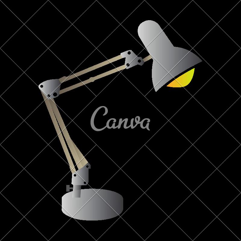 800x800 Desk Lamp Vector
